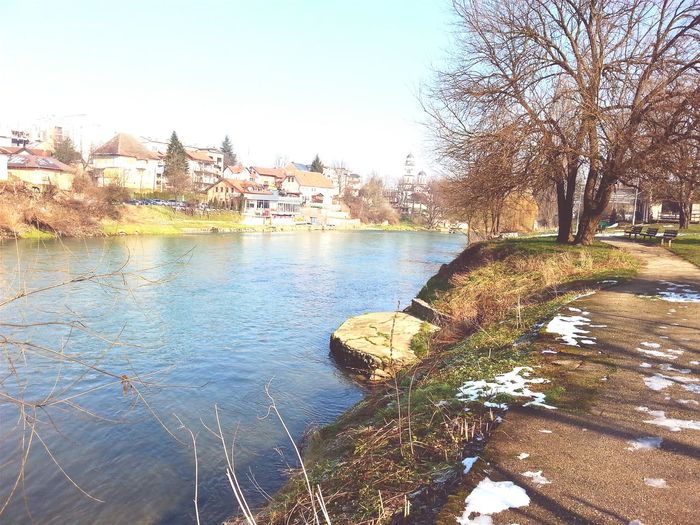 River Vrbas Riverside Riverside View Landscape Enjoying The View Winter Sun EyeEm Nature Lover EyeEm Gallery