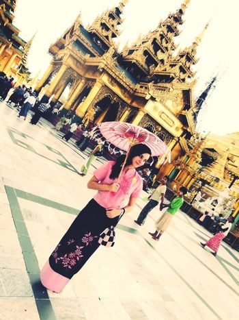 Beginning of freedom. Yangoon Myanmar Rangoon Temple Tourist ASIA Traditional Traditional Costume That's Me Enjoying Life