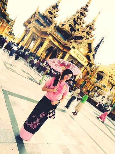 Beginning of freedom. Yangoon Myanmar Rangoon Temple Tourist ASIA Traditional Traditional Costume That's Me Enjoying Life