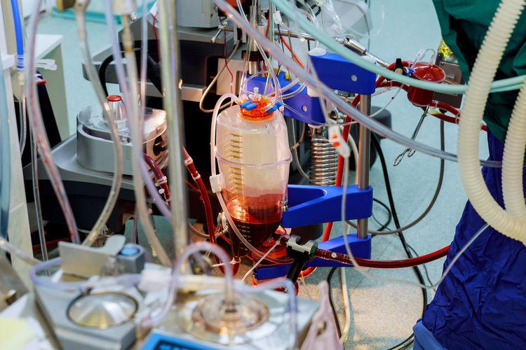 Close-Up Of Medical Equipment At Hospital
