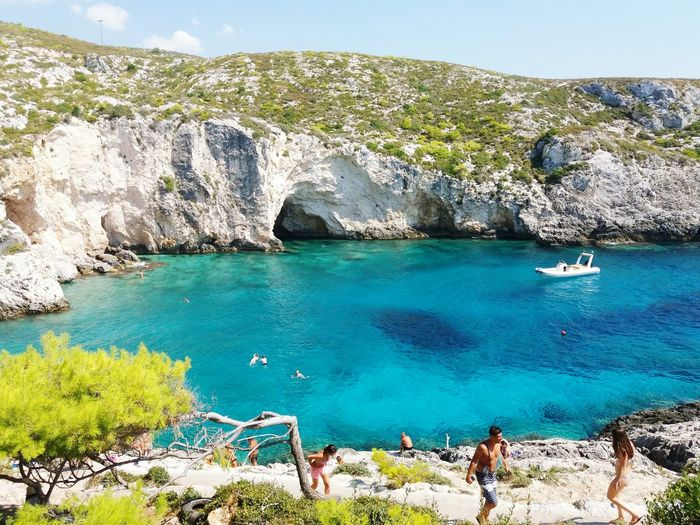 Zakynthos,Greece Vacations_in_greece First Eyeem Photo Crystal_waters Vitamin Sea Greek Islands Greek Summer Ionianislands Clear Blue Water