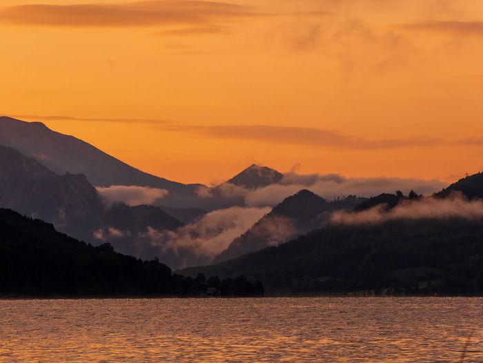 Mondsee Lake