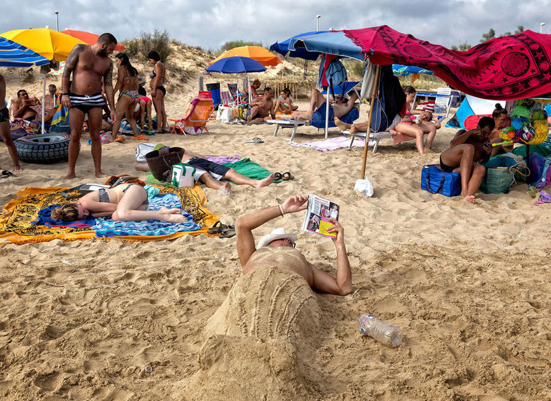 The comfort zone Beach Italy Outdoors Relaxation Sand Summer The Street Photographer - 2017 EyeEm Awards Vacations