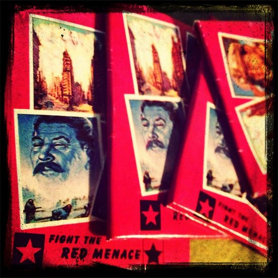 Red Menace Bubble Gum Cards (1950's) 1950s Stalin Cards