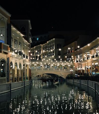 EyeEm Best Shots EyeEmNewHere EyeEm Selects Night Architecture Built Structure Building Exterior Illuminated City Water Building Sky Nature Incidental People Outdoors Street Lighting Equipment Reflection Waterfront Transportation Decoration