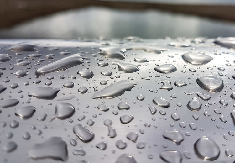water drops Drops Water Horizon Rain Raindrops Winter Storm RainyDay Beach December Minimalism Closeup Reflection Raindrops Bridge Beautiful Lessismore Perspective Point Of View Water_collection Water Close-up Indoors  Wet Day