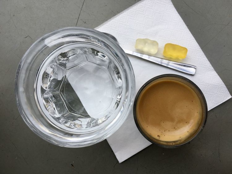 Espresso Close-up Coffee Coffee - Drink Container Cup Directly Above Drink Drinking Glass Food Food And Drink Freshness Glass High Angle View Household Equipment Indoors  No People Refreshment Still Life Table