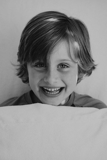 Portrait Smiling Looking At Camera One Person Indoors  Headshot Human Face Home Interior Real People Happiness Close-up Day Childhood Boys Lifestyles People
