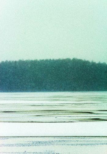 Pattern Art Paintphotography  Lake Frozen Nature Frozenlake Winter
