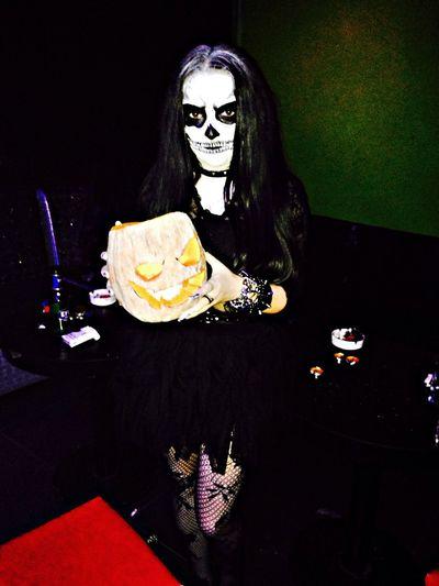 Happy Halloween! Halloween Party Hard Skeleton