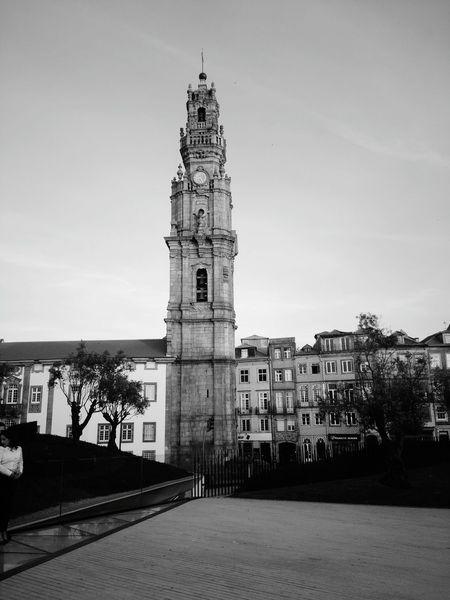 Visiting Porto | PortoLovers | Clerigos Tower | Lovely City | B&white Photography