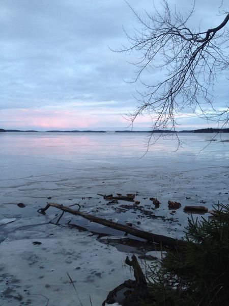 Ice is breaking in the Stockholm Archipelago , No Filter