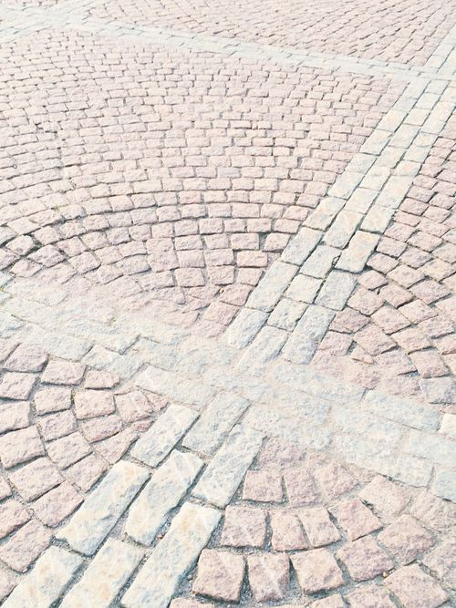 Crossroads Helsinki Senate Square Urban Summer In Helsinki Backgrounds Pattern Textured  Full Frame No People Street High Angle View Footpath Day Stone Nature Architecture Outdoors Sunlight Paving Stone Cobblestone City Cracked Rough Solid