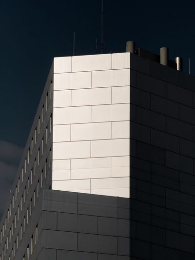 Architectural Design Modern Architecture Architecture Built Structure Building Exterior No People Wall - Building Feature Low Angle View Day Sunlight City Wall Building Sky Pattern Window Shadow Capture Tomorrow