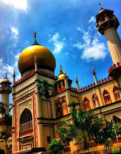 Singapore ? Mosque Fridays Traveling Iphone4