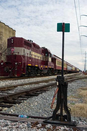 Day Freight Transportation Locomotive No People Outdoors Public Transportation Rail Transportation Railroad Track Train - Vehicle Transportation