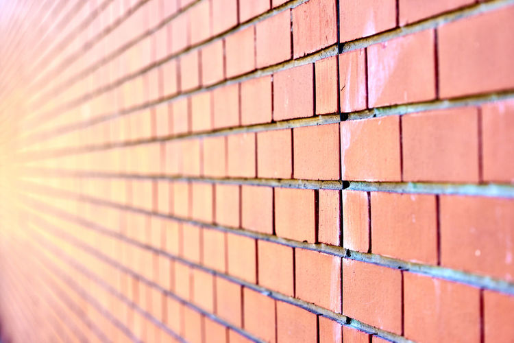 Architecture Backgrounds Brick Wall Built Structure Close-up Day Full Frame No People Outdoors Pattern Textured  Wall - Building Feature