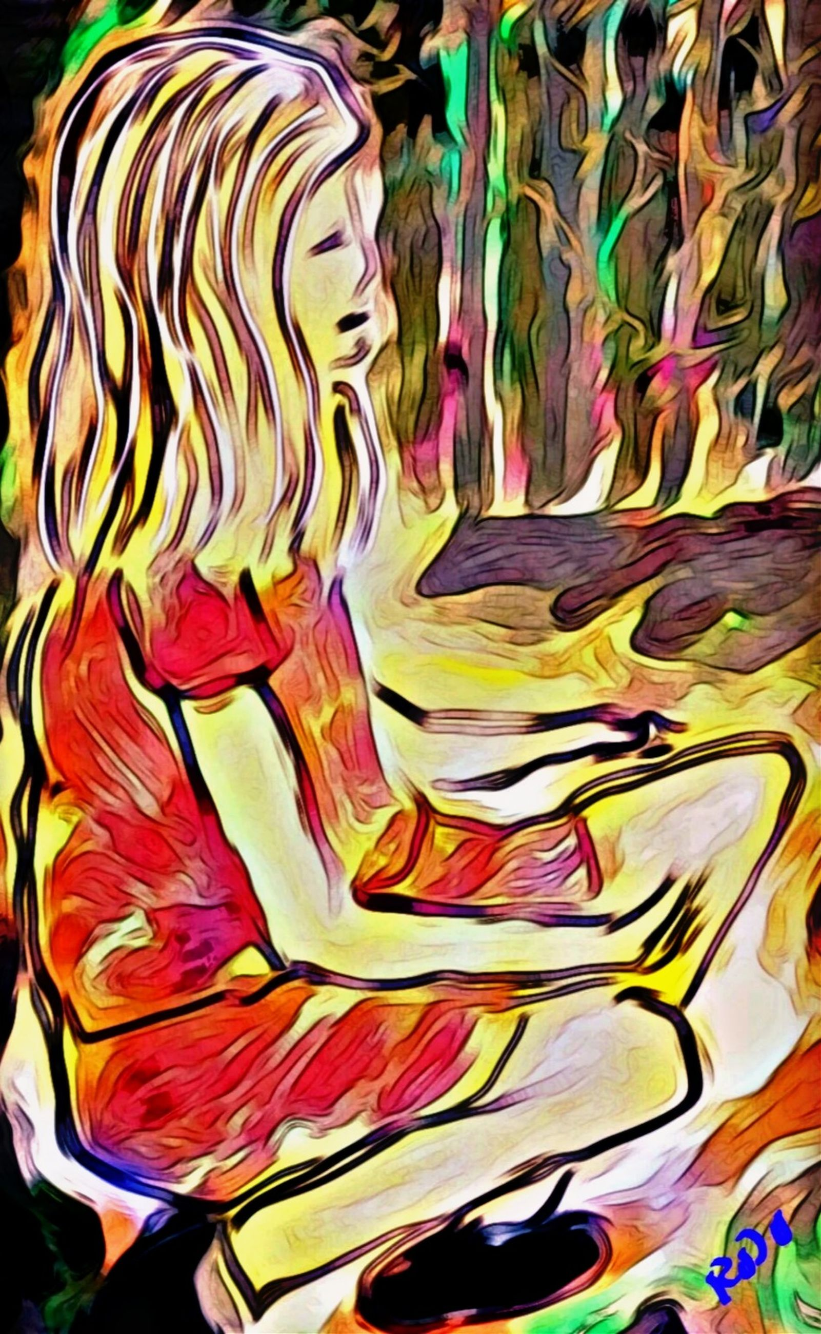multi colored, psychedelic art, creativity, pattern, art, no people, abstract, full frame, painting, close-up, cartoon, indoors, drawing, backgrounds