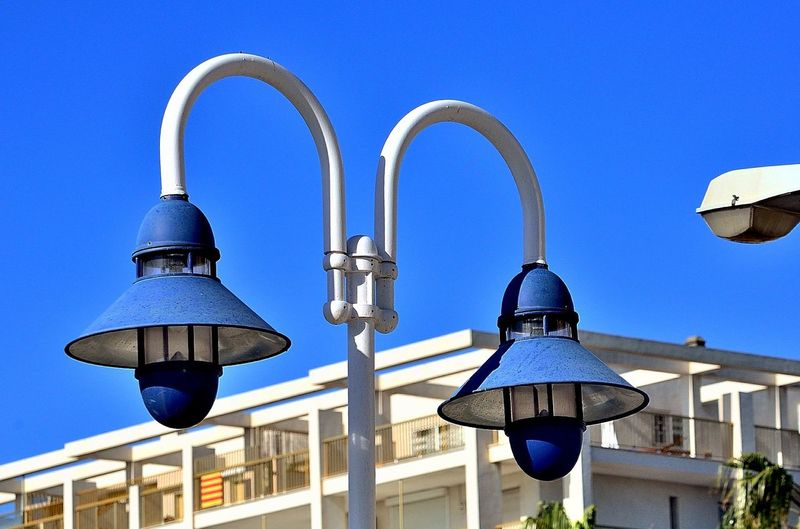 Fanals Detalls Clear Sky Blue Architecture No People Day Outdoors Built Structure