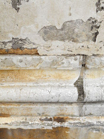 Architecture ArchiTexture Backgrounds Basement Building Exterior Built Structure Close-up Column Damaged Day Deterioration Full Frame Marble No People Old Outdoors Pattern Rough Run-down Textured  Textures And Surfaces Torus Wall Wall - Building Feature Weathered