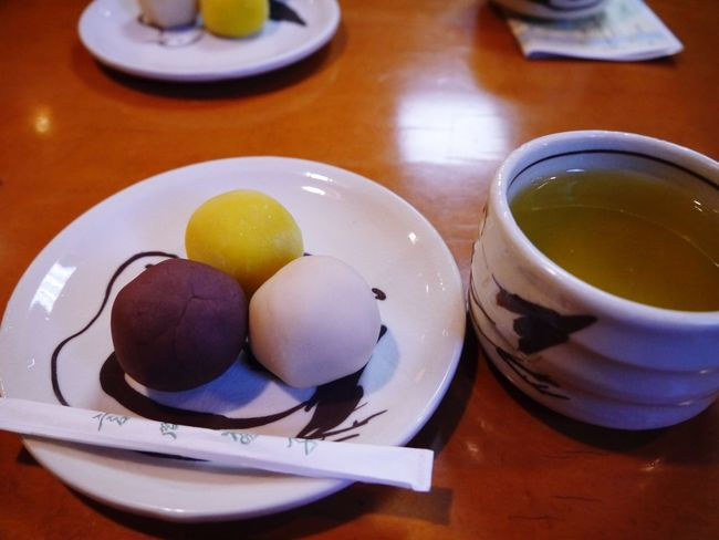 Still Life Food And Drink High Angle View Plate Food Table Indoors  Healthy Eating Freshness No People Close-up Serving Size Bowl Ready-to-eat Eggcup Day Japanese Style Japanese Tea Cup Dango Japanese Sweets Anko