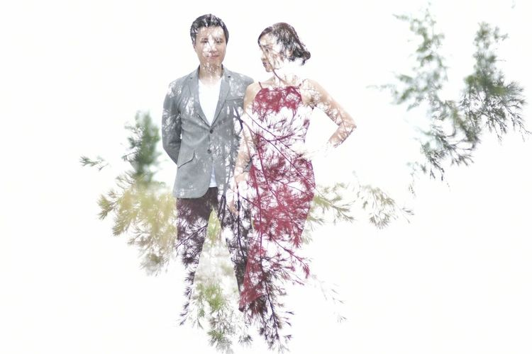 Two People Tree Mature Adult Adult Mature Men Adults Only Togetherness Smiling Men People Gray Hair Happiness Senior Adult Growth Business White Background Day Cheerful Wedding Bride The Portraitist - 2017 EyeEm Awards Nikon D500 Double Exposure Outdoors EyeEm Selects