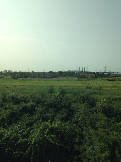 NoWhere Land Green Fields Industry Periphery