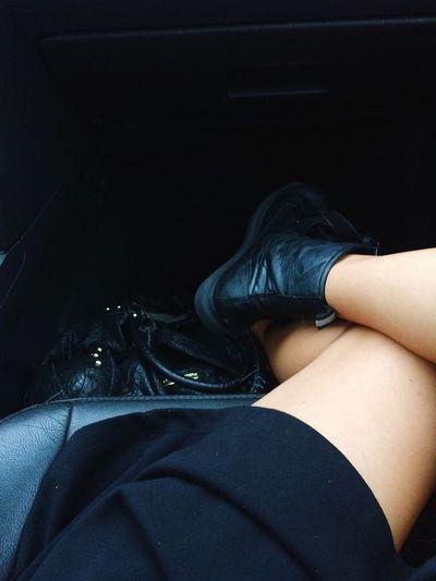 Skin Long Legs Blackboots
