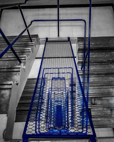 A stairwell to nowhere Indoors  Pattern