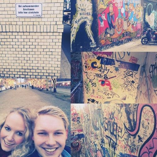 hallo berlin! Urlaub Mussauchmalsein Grafitti Cornern emotionen girlfriend nice roadtrip arschkalt love