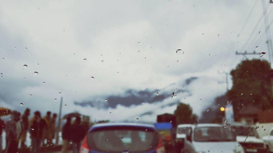 Clouds And Sky Rainy Days Stuck In Traffic Woww .. Urban Lifestyle