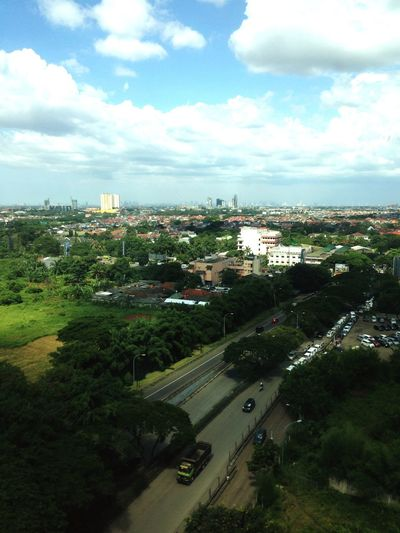 View from campus building Lippo Karawaci Indonesia Building Uph