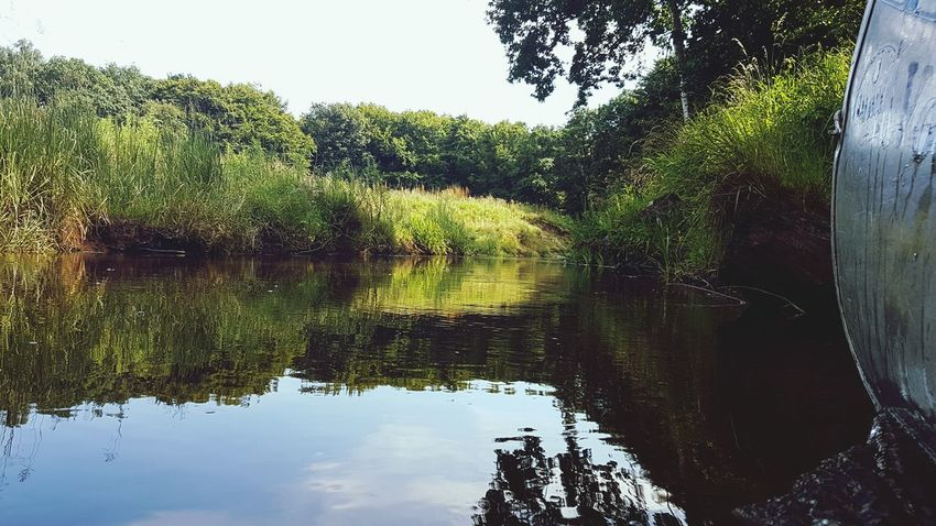 Paddling in Denmark Adventure Club Nature River Riverbank Nature Photography Outdoors Paddle Denmark Water Reflections Paddling Showcase July Sailing Landscape Samsung Galaxy S7