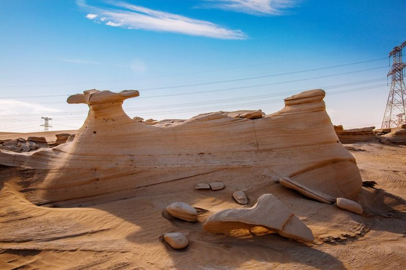 Desert Fossil Rock Fossil Rock Fossil EyeEm Selects Nature No People Desert Beauty In Nature Day Sand Sky Landscape Travel Destinations Outdoors