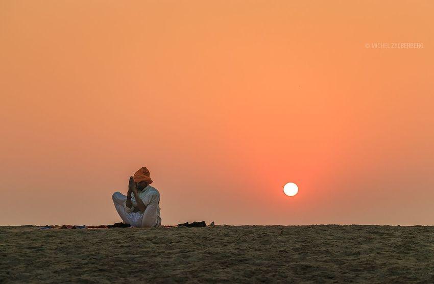 Morning Yoga, Varanasi - India Sky People Silhouette Varanasi, India Ganges, Indian Lifestyle And Culture, Bathing In The Ganges, Yoga Yoga Pose Yoga ॐ First Eyeem Photo