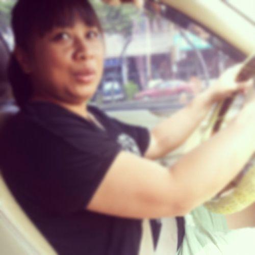 我這阿姨巨久沒開車,天主保佑 一路平安