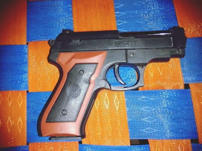 Fake Gun Thuppakki Gun Bullet EyeEm Selects Close-up Multi Colored Indoors  Day