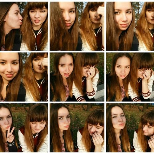 Bffs ✌ Russian Girl Photo Collage