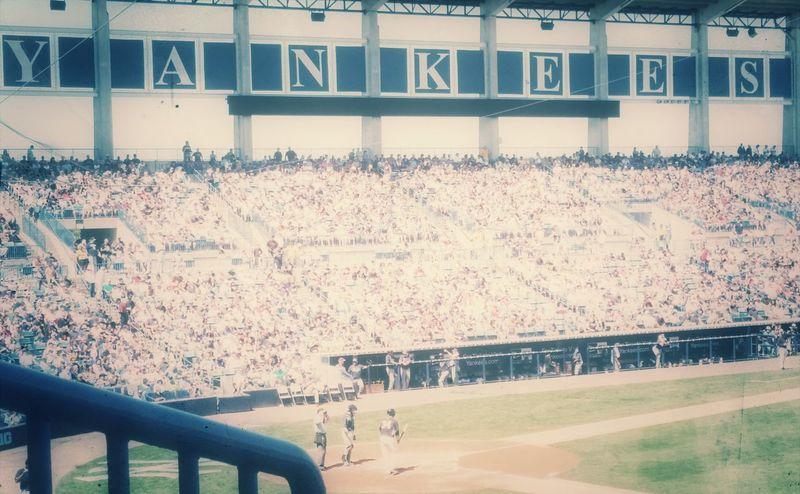 The Yankees Yankees Vintage Stadium Atmosphere