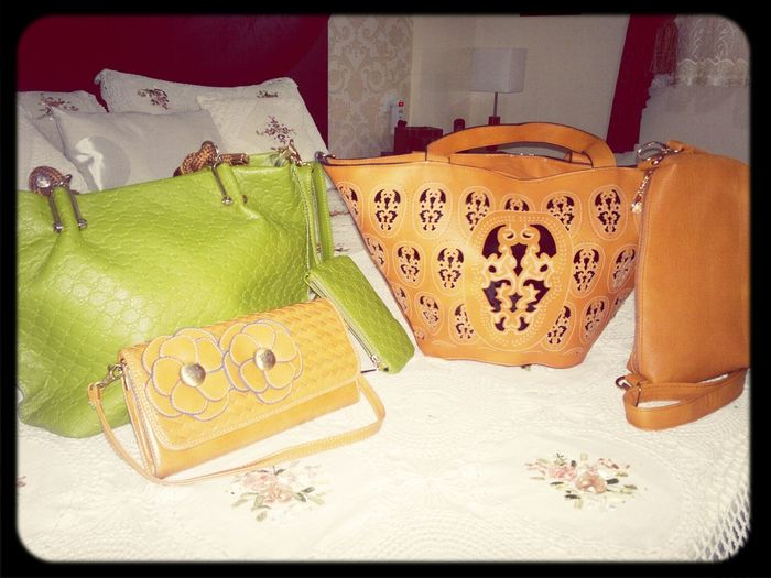 my new bags