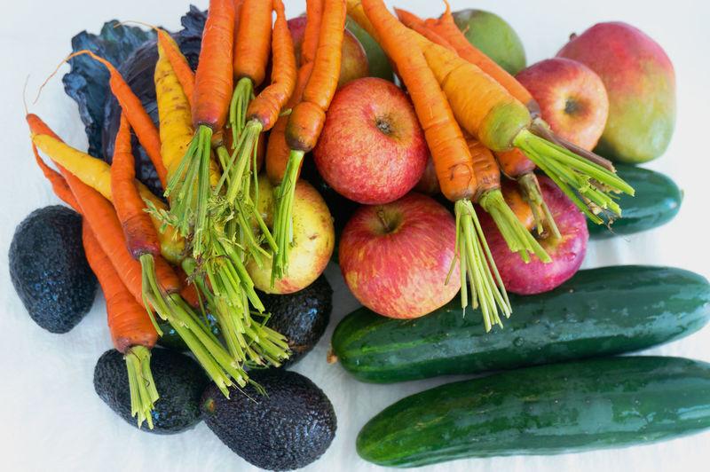 Close-up of fruit salad