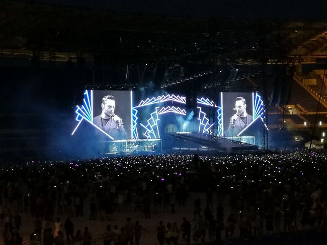 Tiziano Ferro Tour 2017 Stadio Olimpico 30/Giugno/2017 The Purist (no Edit, No Filter) Color Photography Arts Culture And Entertainment Night Illuminated Performance Performing Arts Event Blue Outdoors People Popular Music Concert Crowd Live Event Fan - Enthusiast Rome Italy🇮🇹 Music Light And Shadow