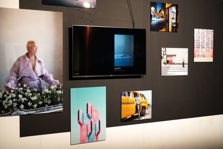 Great exhibition! Check the finalists! BPW18 Creativity EyeEm Awards 2018 EyeEm Best Shots Fine Art Photography Arts Culture And Entertainment Exhibition Festival Flat Screen Lifestyles Photography Technology Television Set