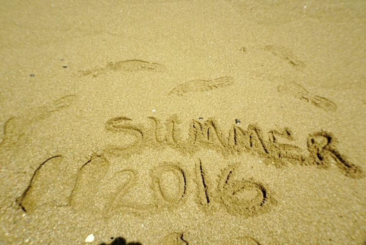 Summer 2016 Summer Memories 🌄 Summer Vibes 😊 Sand Writing Sand Writing Photography Sand Footprints