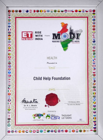 Child Help Foundation was honored at ET Now | Rise with India - MODI Awards 2018 with 2 awards 1. Best NGO for Education for Girl Child 2. Best NGO for Health and Nutrition programme and medical support Also, we are honored to receive Certificate of Merit from Dr. R. L. Bhatia and World CSR Day AWARD ChildHelpFoundation Donate Helping Helping Refugees NGO Non Profit Poor  SaveGirls Sponsor UNICEFIndia Award Winning Photos Awardwinner Best Ngo Education Help Helping Hand Savegirl Savegirlchild Unicef Unicefiraq