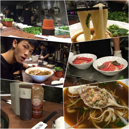 可以即場看越南河粉的全製作和烹煮過程,這個感覺很讚👍 Vietnamese Food Crab Sea Urchin TheSceneMade Tomatosoup Taking Photos EyeEm Best Shots Discover Your City Faces Of EyeEm Spice Spice