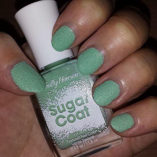 Love my nails ♡ Sallyhansen_de Sugarcoat Mysallynails Prsample thanks newin nailpolish beauty nagellack bblogger notd
