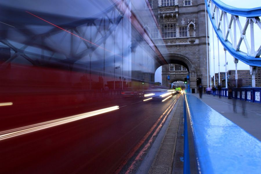 London Bus EyeEm Best Shots Bus EyeEm Gallery Check This Out Taking Photos London Light Long Exposure Bridge Learn & Shoot: Simplicity