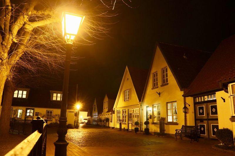 Illuminated Architecture Built Structure Building Exterior Night Street City