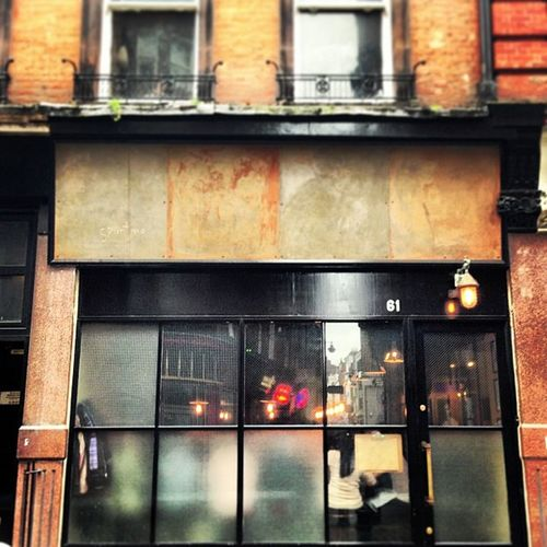 Doesn't Look Much Nosign Soho Ramshackled Food Number61 American London Amazing Uk Italian Spuntino 61 FoodHeaven Battered